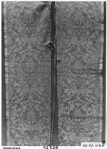 Back of a chasuble