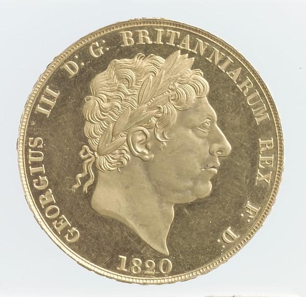 George III double sovereign