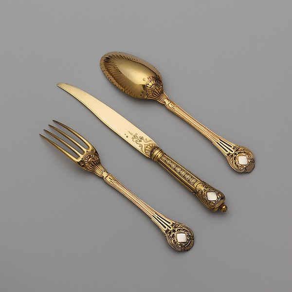 Set of six spoons