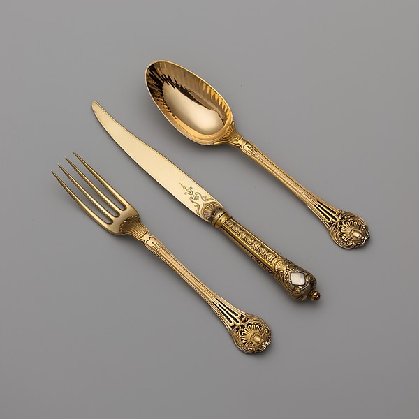 Set of six forks (part of a set)