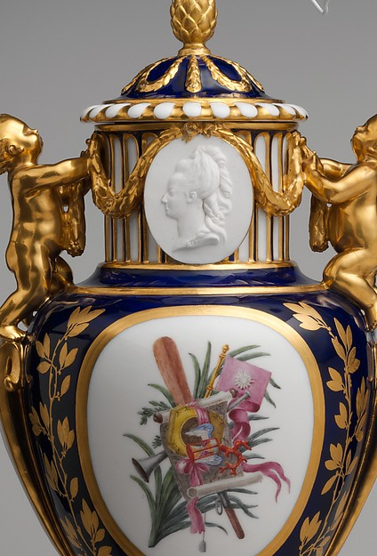 Vase with cover (Vase Paris enfants)