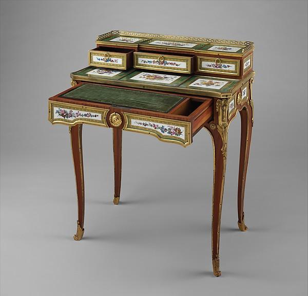 Small writing desk (bonheur-du-jour)