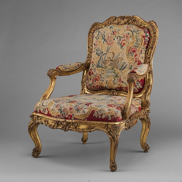 Armchair (Fauteuil à la reine) (part of a set)