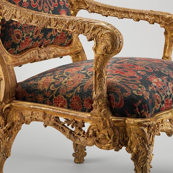 Armchair (fauteuil à la reine)