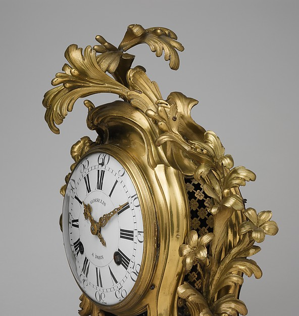 Clock (pendule à console)