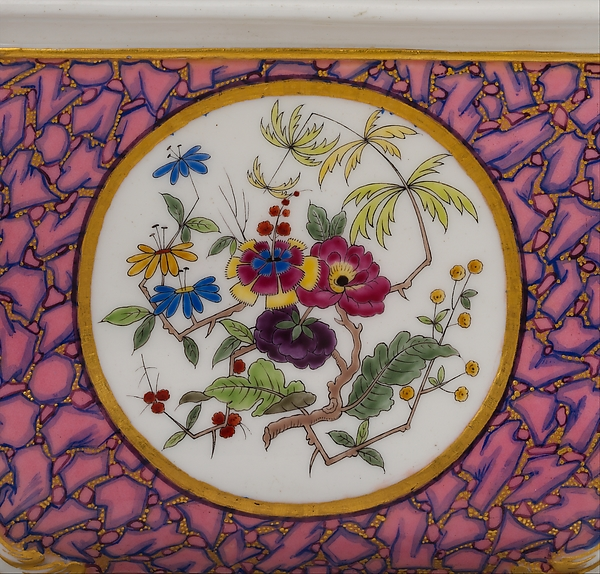 Vase (cuvette à fleurs courteille)
