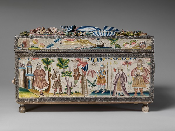 Cabinet with scenes from the Story of Esther