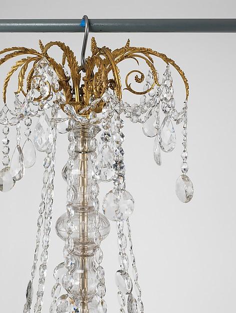 Fifteen-light chandelier