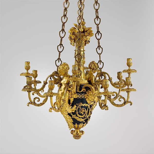 Twelve-light chandelier (lustre)