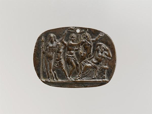 Bacchus discovering Ariadne on Naxos