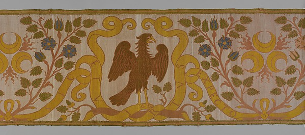 Border with Strozzi emblems