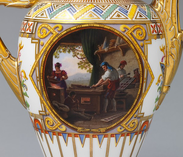 "Coffeepot (cafetière ""campanienne"") (part of a service)"