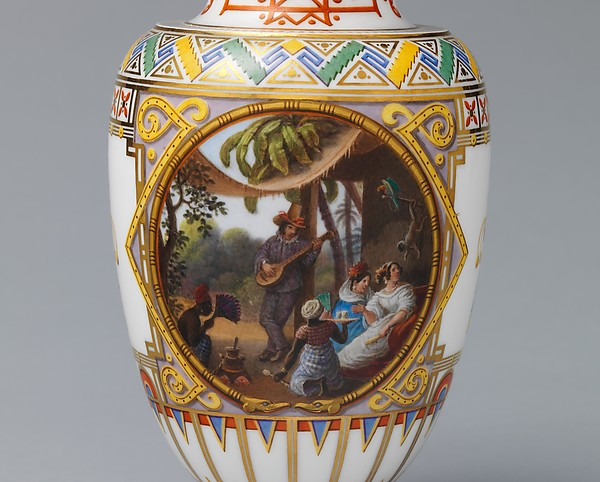 Milk jug (Pot à lait ovoide) (part of a service)