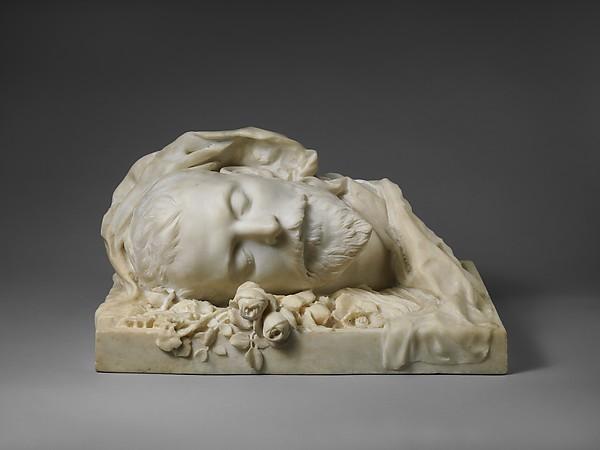 Funerary Portrait of Jacques Damala