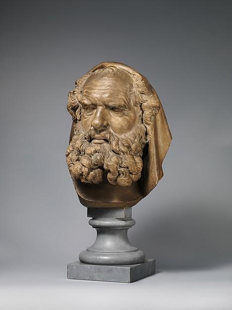 Head of a Bearded Elder