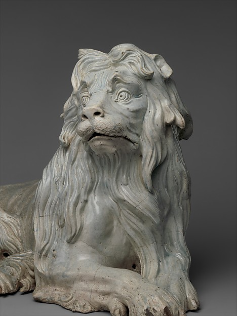 Lion (one of a pair)