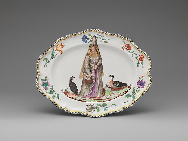 Platter (one of a set)