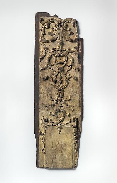 Pilaster fragment