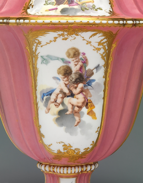 Vase (vase Boileau) (one of a set)