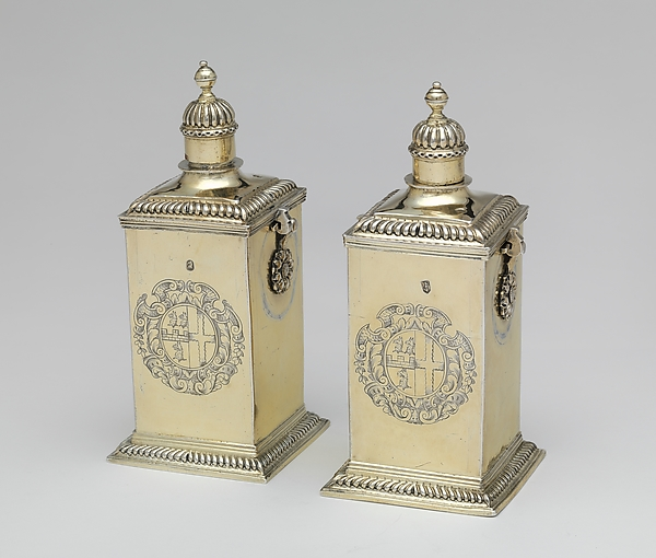 Pair of perfume bottles