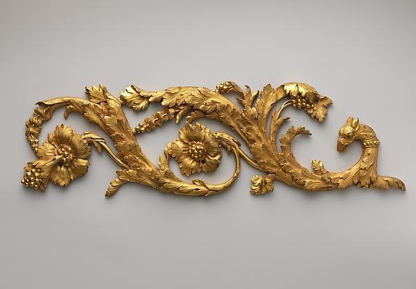 Pair of frieze ornaments