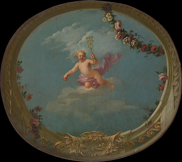 Cupid as a Messenger, with Caduceus