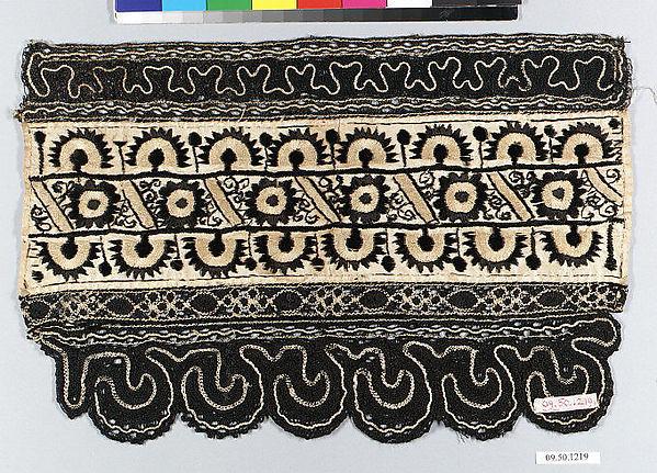 Detail from a headdress