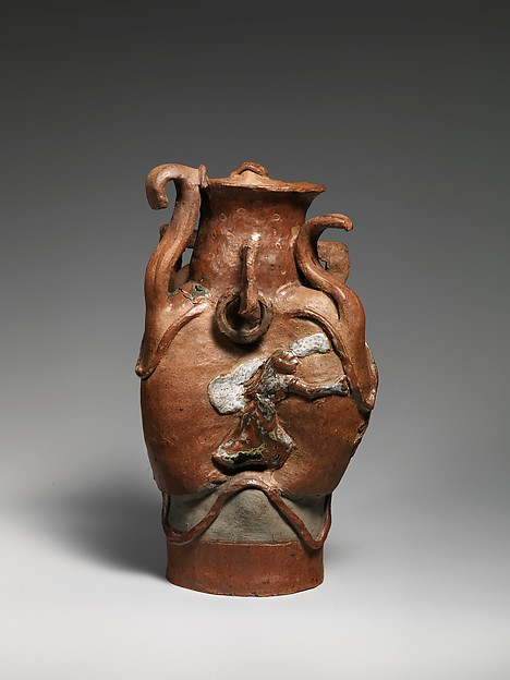 Vessel with Women and Goats