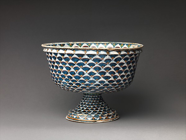 Bowl on foot with arms of the Ridolfi di Borgo
