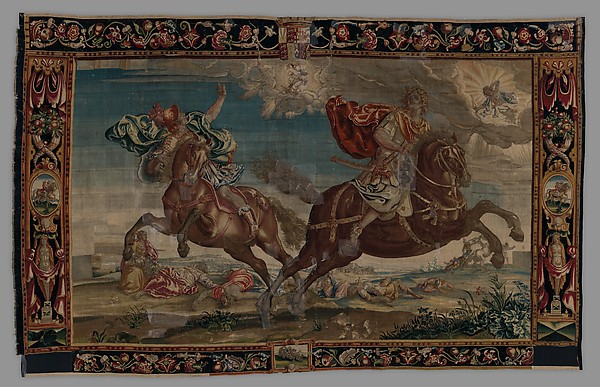 The Destruction of the Children of Niobe from a set of The Horses
