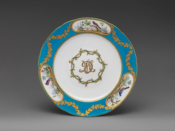 This is What French Svres culture and Plate Looked Like  in 1775