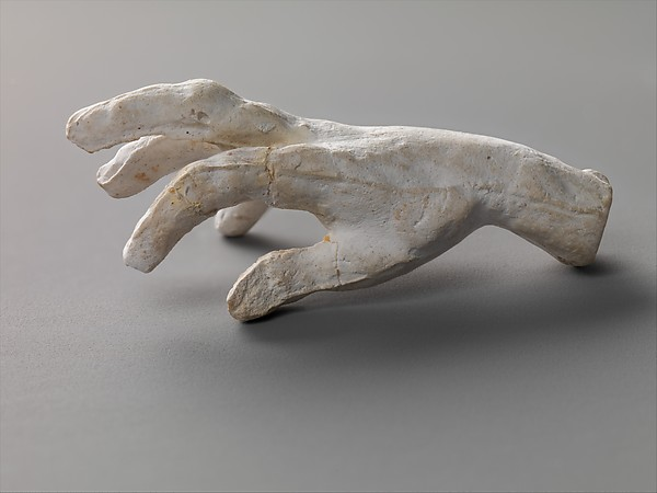 This is What Auguste Rodin and Study of a hand Looked Like  in 20