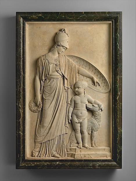 Minerva Protecting the Young King of Rome