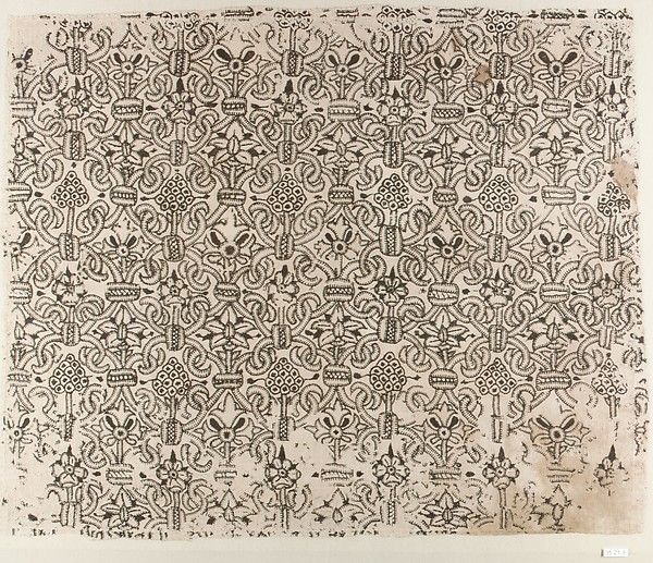 Panel of blackwork