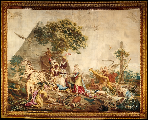 Africa, from a Suite of Tapestries Depicting the Four Continents