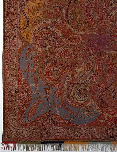 Four Seasons shawl