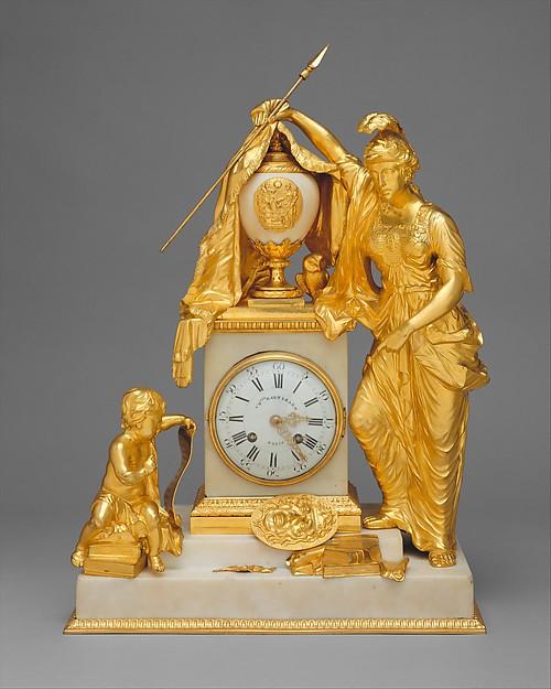 Minerva clock