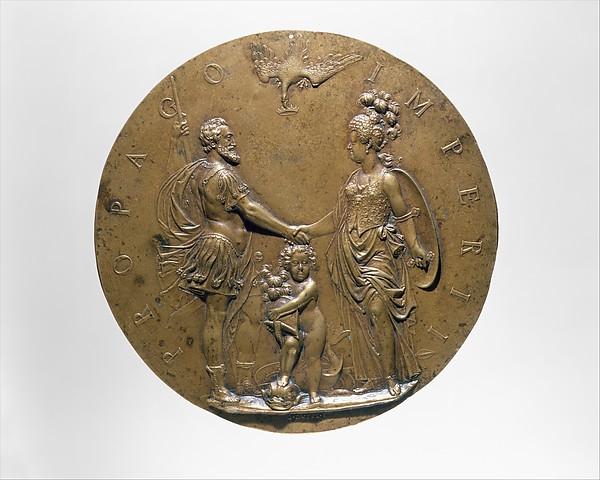 Henri IV, Marie de Médicis and the Dauphin