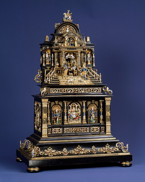 Miniature cabinet or house altar