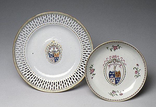 Soup plate (part of a service)