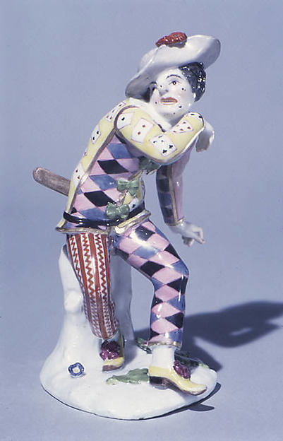 Frightened Harlequin