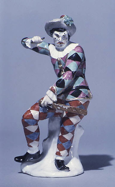 Scowling Harlequin