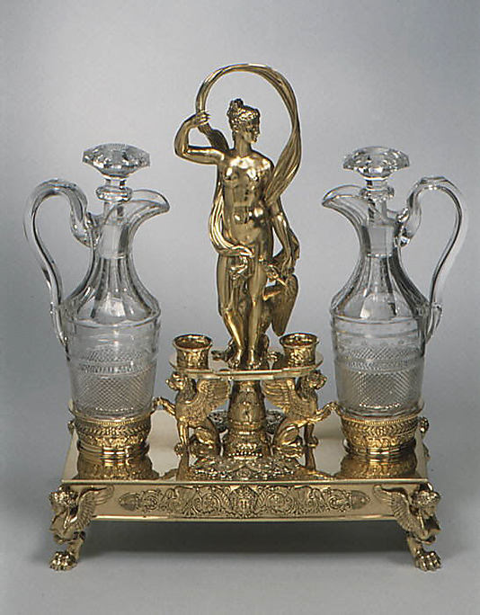 Cruet frame (one of a pair)