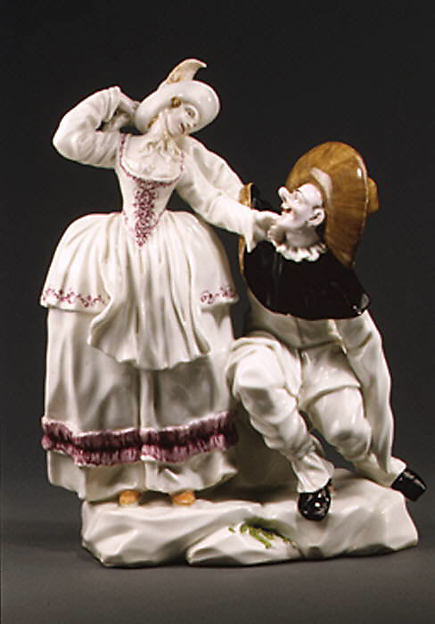 Pulcinella and companion