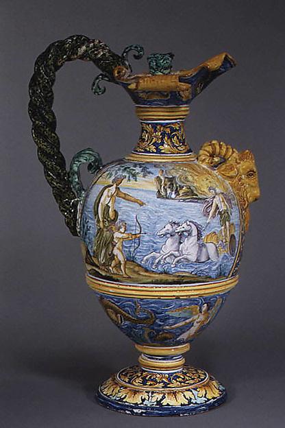 Wine jug (one of a pair)