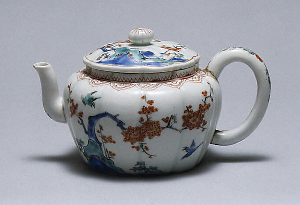 This is What Japanese for European market culture and Wine pot and cover Looked Like  in 1775