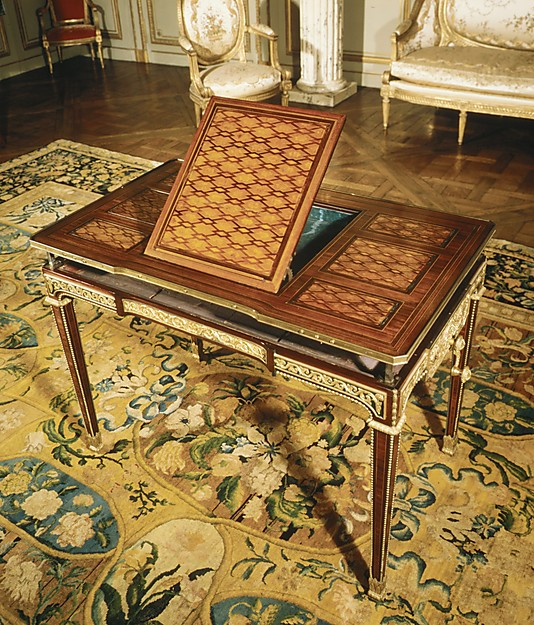 Mechanical table (Table mcanique)