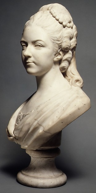 Félicité Sophie de Lannion, Duchesse de La Rochefoucauld, at the Age of 29 Years (1745–1830)