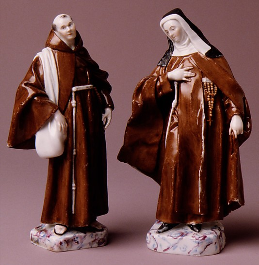Franciscan nun (one of a pair)