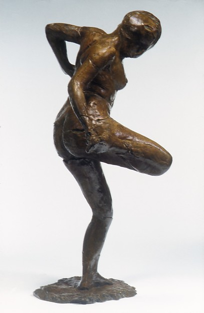 Dancer Looking at the Sole of Her Right Foot (Third State)